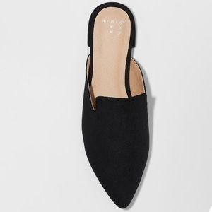 NWT A New Day Velma slip on pointy toe mules